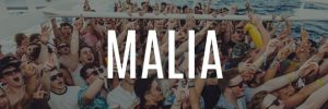 malia party holidays banner button booze cruise